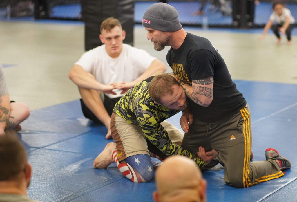 Sean Daugherty Teaching Catch Wrestling