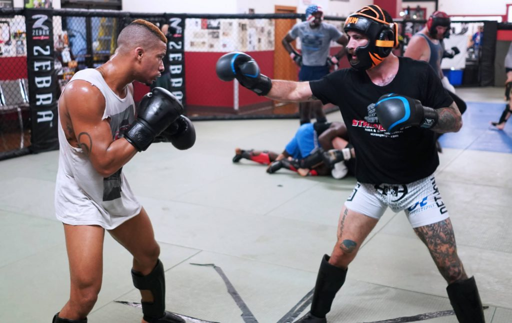 MMA Team Sparring