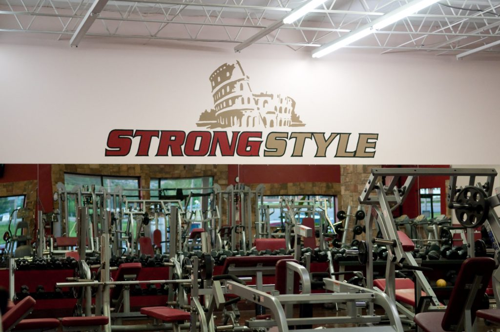 A picture of the Strong Style facility